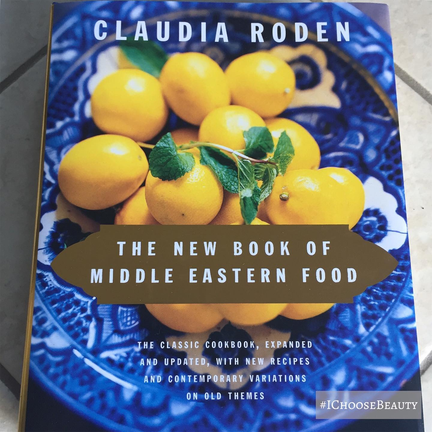 I've been longing for my mom's Egyptian recipes lately (I made the mistake of leaving them in storage when we moved to Maui). This cookbook's author was born and raised in Egypt, and has similar authentic recipes as the ones I grew up eating. Can't wait to dig in! ️ #ichoosebeauty Day 2398