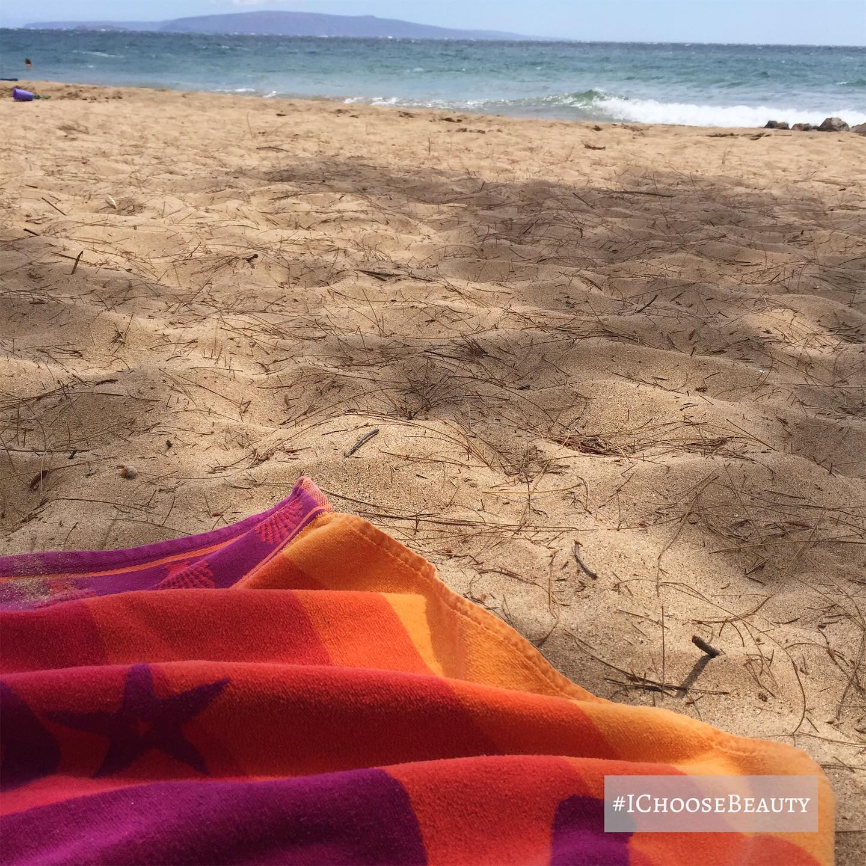 Beach day. 🏖 #ichoosebeauty Day 2460