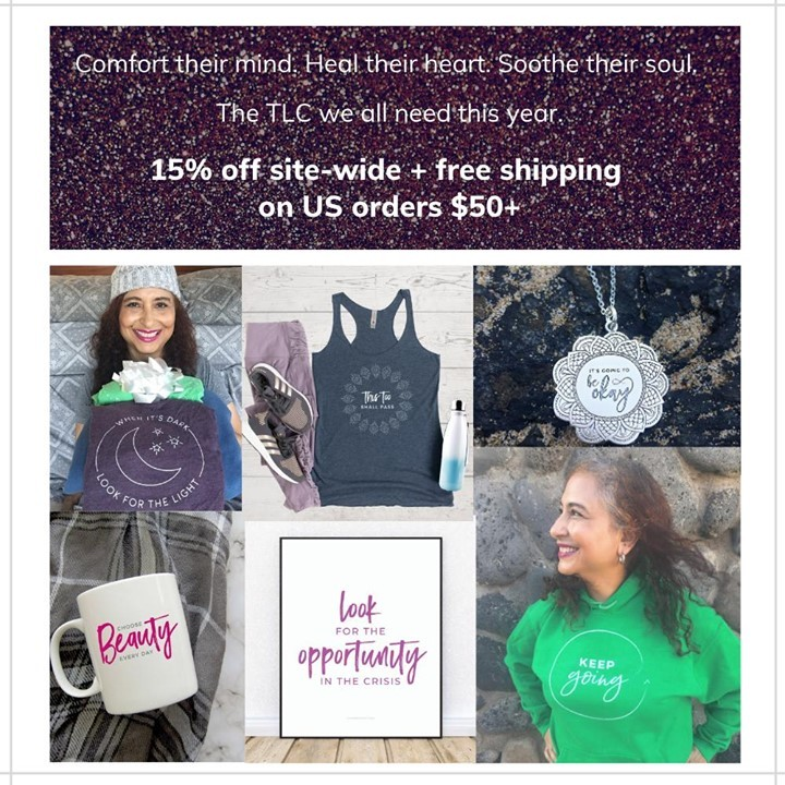 Now through Cyber Monday, everything in the I Choose Beauty shop is 15% off! Plus you get FREE US shipping on all orders $50 or more!Comfort their mind. Heal their heart. Soothe their soul. These are the TLC gifts we could all use this holiday season.🥰Thank you so much for supporting my small business, especially this year.Use promo code BLACKFRIDAY at checkout to save 15% on everything - hoodies, tees, mugs, and more!Link to shop is in my bio. 5% of net proceeds goes to @MentalHealthAmerica.#ichoosebeauty #shopsmallthischristmas #shopsmallbusinesses #shopsmallbiz #shopsmalllove #shopsmallmovement #shopsmallonline #shopsmallyall #wearabletherapy #wearables #healingtools #healingtrauma #athleisurewear #athleisurestyle #athleisurelook #coronaviruspandemic #lifeinthetimeofcornona #covid2020 #mentalhealthisimportant #mentalhealthadvice #mentalhealthjourney #mentalwellness #mentaltraining #mentalhealthsupport