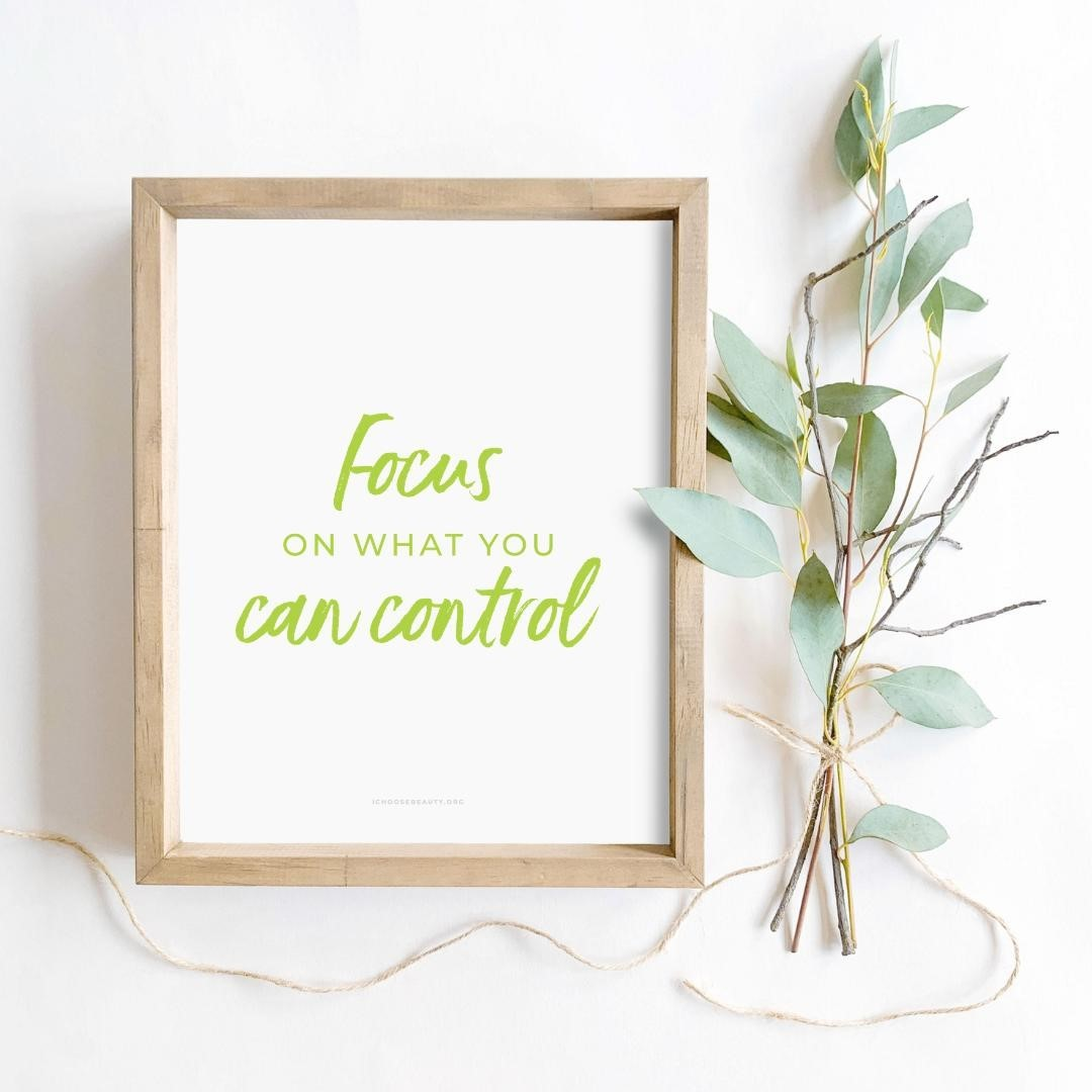 Focus on what you can control inspirational printable now in the shop!One of 10 brand new printable quotes to gift someone you love, or keep for yourself... or both. 🥰I wanted to create something that would uplift, comfort, and empower you after so many tumultuous months.And also be:️Affordable (just $5.95 each)️Something without the concern of mail delays (simply print at home or at a local printer)️Frameable or not... your choiceThat's how the new printables came to be.They're all from my collection of coping statements that have personally helped me when I've struggled with my mental health. These particular quotes seemed more relevant this year, so I thought I'd offer them as printables - something colorful to brighten your day.Print them, frame them, hang them...Let them be your reminders to hope, persevere, and thrive despite the challenges of 2020.Link to shop is in my bio. 5% of net proceeds goes to @mentalhealthamerica#ichoosebeauty #selfkindness #coronaviruspandemic #lifeinthetimeofcornona #covid2020 #inspiringwords #inspiringquote #inspiringthoughts #inspirationalquotestoliveby #inspirationalmessage #inspirationalsayings #inspirationalthought #healingtools #healingyourself #selflovematters #selflovetips #selflovemovement #selfloveadvocate #mentalhealthsupport #mentalhealthisimportant #mentalhealthtips #mentalhealthhelp #mentalhealthjourney #mentalhealthcare #mentalhealthadvice #mentalhealthcommunity #mentalwellness