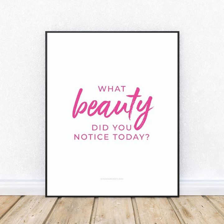 Thoughtful last-minute gift, no shipping required! Just print it, frame it, and you're good to go!What beauty did you notice today? inspirational 8x10 printable. One of 10 new printable quotes to uplift, comfort, and empower your loved ones after this overwhelming year.🥰️Affordable (just $5.95 each)️No mail delays (simply print at home or at a local printer)️Frameable or not... your choiceColorful designs + healing words = much-needed mental health TLC.Link to shop is in my bio. 5% of net proceeds goes to @mentalhealthamerica#ichoosebeauty #selfkindness #coronaviruspandemic #lifeinthetimeofcornona #covid2020 #inspiringwords #inspiringquote #inspiringthoughts #inspirationalquotestoliveby #inspirationalmessage #inspirationalsayings #inspirationalthought #healingtools #healingyourself #mentalhealthsupport #mentalhealthisimportant #mentalhealthtips #mentalhealthhelp #mentalhealthjourney #mentalhealthcare #mentalhealthadvice #mentalhealthcommunity #mentalwellness #lifeslittlethings #findbeautyeveryday #beautyeverywhere #beautyinlife
