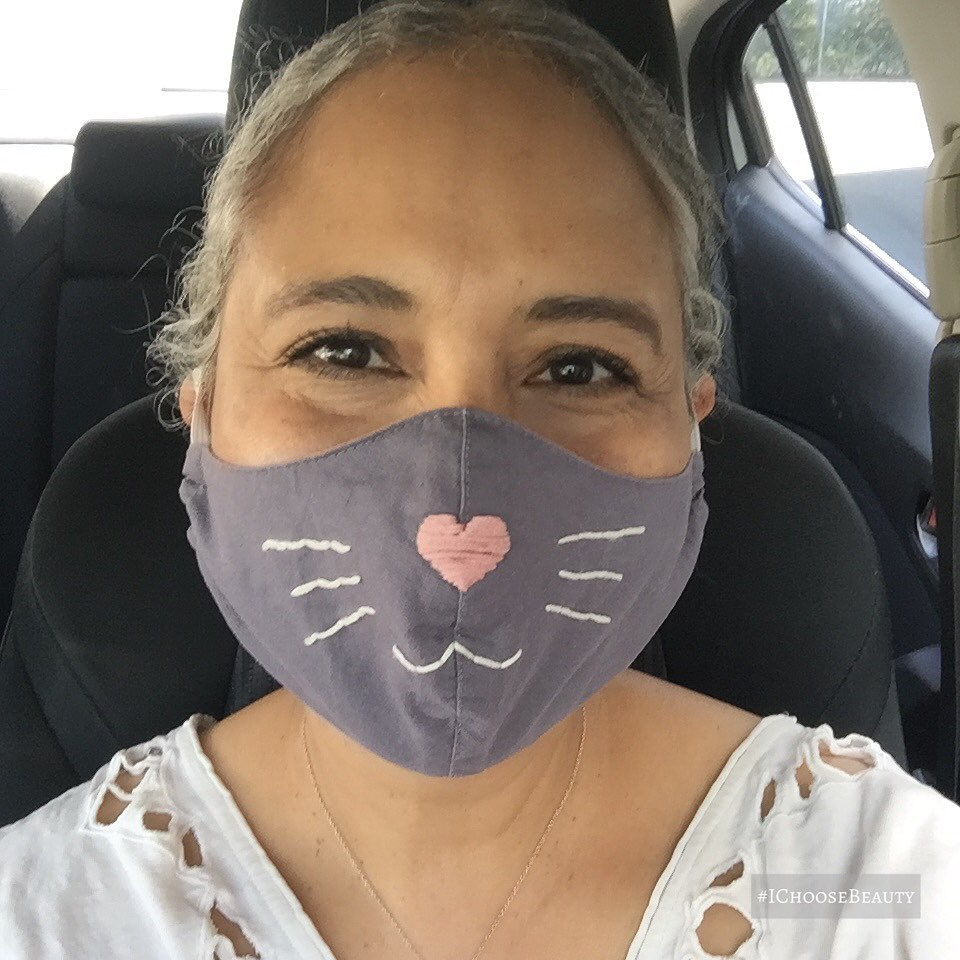 The smiles I get whenever I wear this mask are purrfectly magical! 😀😀#ichoosebeauty Day 2639