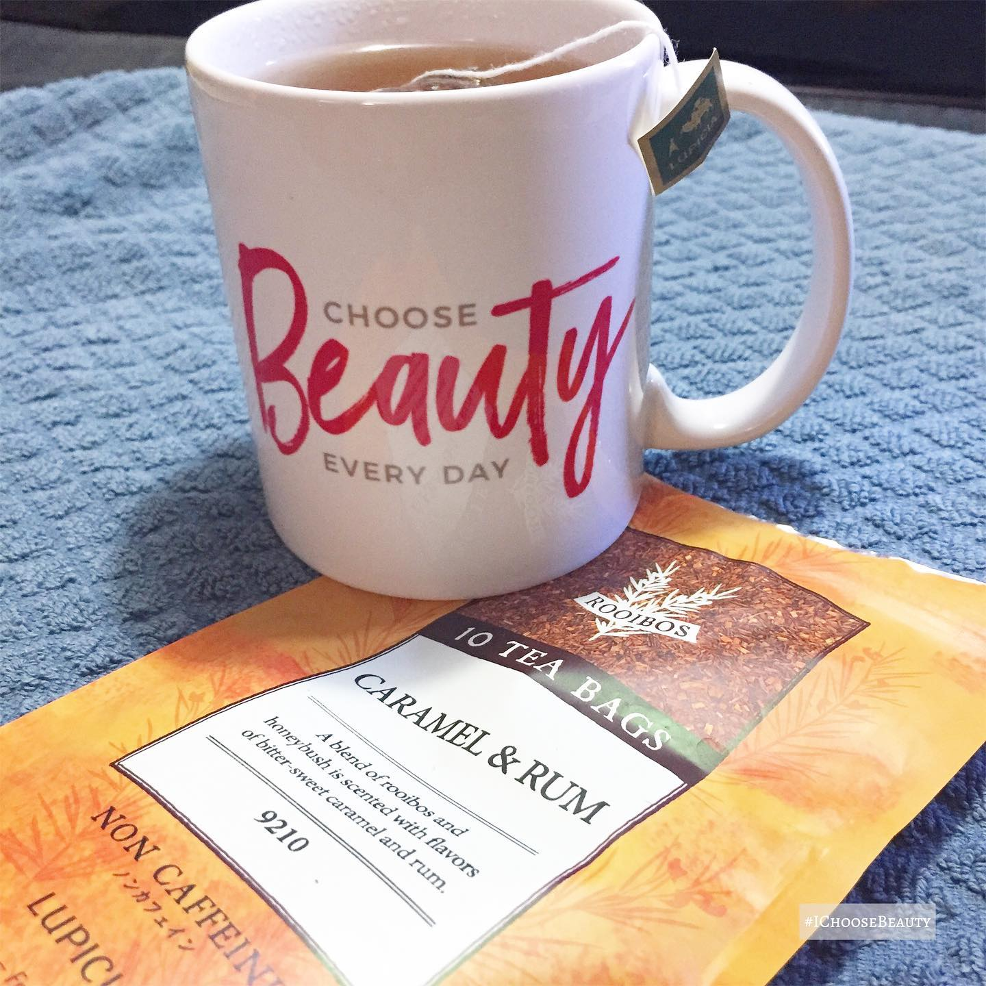 In case you're wondering... Yes, the @ichoose.beauty shop is still open. Yes, the #ichoosebeauty challenge is still available. And OMG yassssss, this tea is super yummy!I know I've been a bit absent for several weeks with a lot of my usual info. But I hope to be back to writing more, and hanging out in Stories again next week. 🏽Also... Can't wait to share something fun I've been working on to brighten up your life as we head into month 15 of 2020.  🥴 xxoo #ichoosebeauty Day 2656