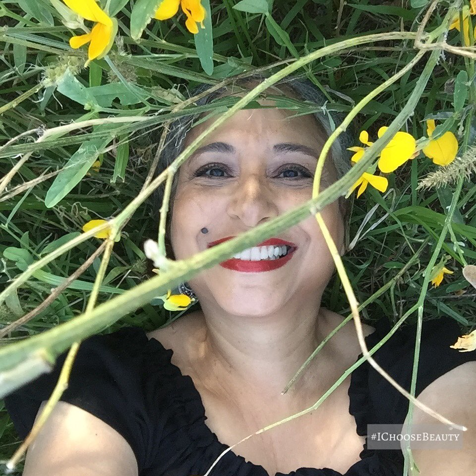 #fbfriday to that time I just had to lie in a field of yellow flowers!  Have a great weekend! And don't forget to notice the beauty in your world. #ichoosebeauty Day 2740